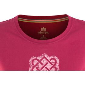 Sherpa Endless Knot T-shirt Femme, anaar